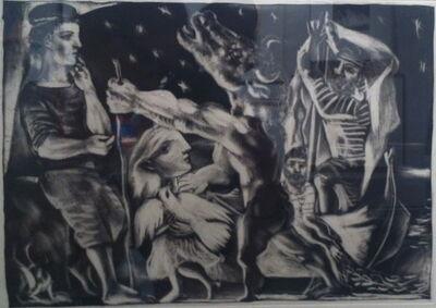 Pablo Picasso, 'Minotaure aveugle guide par une fillette dans la nuit', 1934