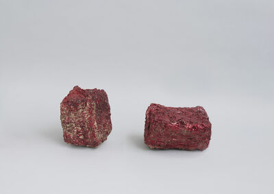 Lucy Skaer, 'Haystacks Made of Garnet, Garnets Made of Hay', 2021