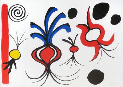 Alexander Calder, 'Quatre oignons ', 1965