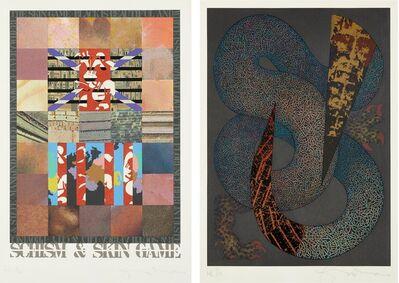 Tom Phillips, 'Schism & Skin Game'
