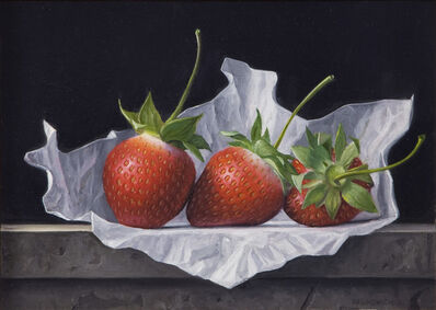 James Aponovich, 'Three Strawberries', 2013