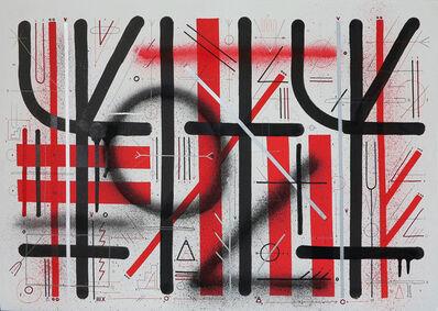 "Sixe Paredes, '""PROTO ESCRITURA II""', 2013"
