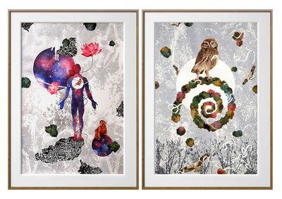 Binay Sinha, 'Eternal Dance of Nature', 2019