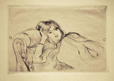 Berthe Morisot, 'Jeune fille au repos', 1887