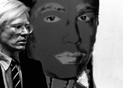 """James O'Mara, 'Andy Warhol """"Russell Means""""', 1977"""