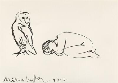 Mircea Cantor, 'Hibou et enfant dormant', 2017