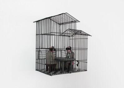 Isaac Cordal, 'Lovebirds', 2019