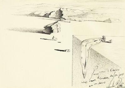 Salvador Dalí, 'Jeune fille au cerceau et montre molle ', 1932