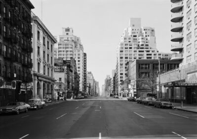 Thomas Struth, '3rd Avenue at 85th Street, New York, Upper East 1978', 1978