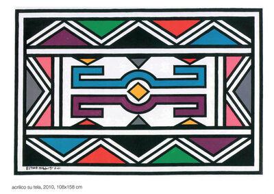 Esther Mahlangu, 'Untitled', 2010