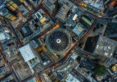 Jeffrey Milstein, 'Gherkin - London Aerials', 2018