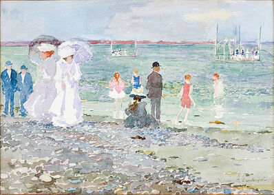 Maurice Brazil Prendergast, 'Revere Beach', ca. 1896-97