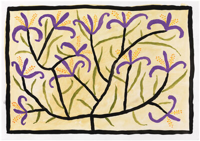 Judy Kensley McKie, 'Tree with Purple Flowers', undated