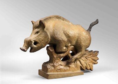 Sèvres Porcelain Manufactory, 'Boar', 1953