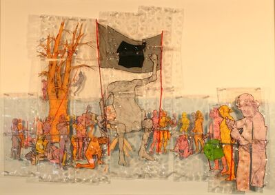 Mike Pavol, 'Allegory in Shrink Plastic'