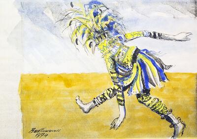 Ben Enwonwu MBE, 'Dancing Ogolo', 1974