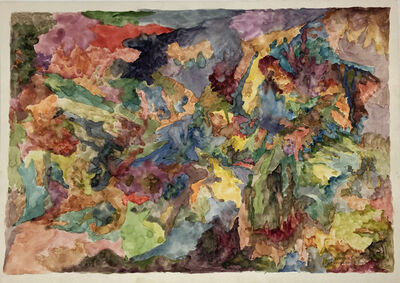 Bernard Schultze, 'Vordem 1.Tag', 1991