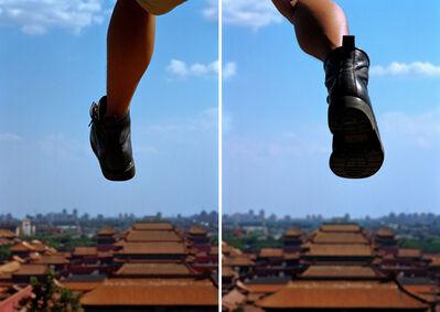 Li Wei 李日韦, 'Walk - Space, 009-01', 2000