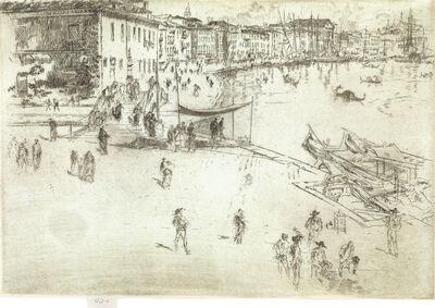 James A. M. Whistler, 'Riva, No. 2', 1879-1880