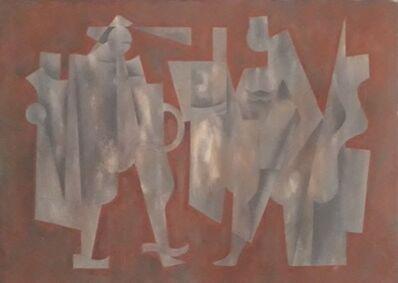 Carlos Merida, 'Admonición (2 personajes)', 1963