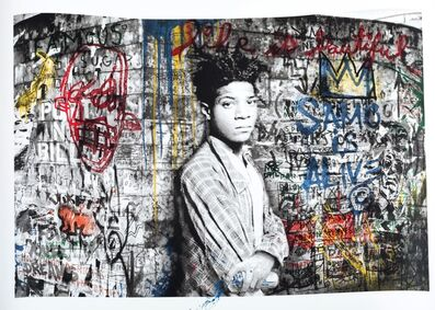 Mr. Brainwash, 'Samo is alive', 2016