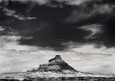 William Clift, 'Factory Butte, Utah', 1975