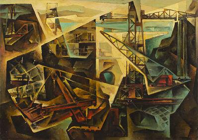 Tullio Crali, 'La grande diga', 1962