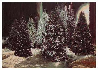 Li Qing 李青 (b. 1981), 'Trees in a Warehouse', 2012