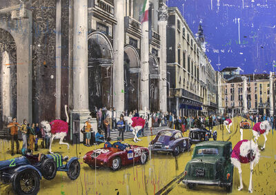 Angelo Accardi, 'Millemiglia ', 2019