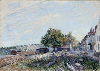 Alfred Sisley, 'Saint Mammès-Morning', 1884