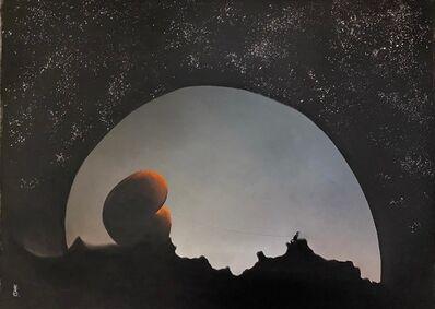 MacKenzie Thorpe, 'Moonlight', 2021