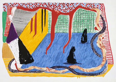 David Hockney, 'Ink in the Room', 1993