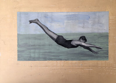 Tom Judd, 'Diving Figure #5', 2017