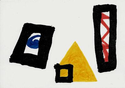 Mathias Goeritz, 'Tarjeta de felicitación', 1983