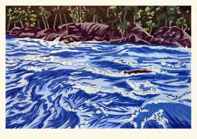 Richard Bosman, 'River Rising', 2009