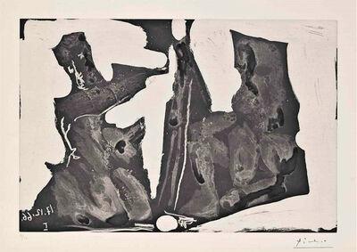 Pablo Picasso, 'Peintre et Modele', 1966
