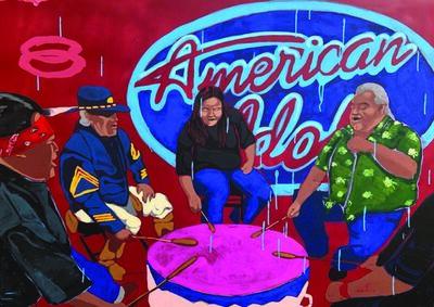 Frank Buffalo Hyde, 'EPOCHS: American Idols', 2018