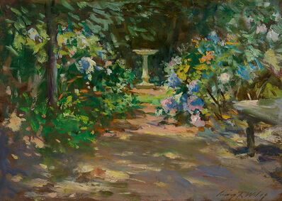 Irving Ramsey Wiles, 'Pathway in the Garden', Late 19th century