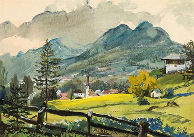 Oskar Laske, 'Mieders im Stubaital', ca. 1925