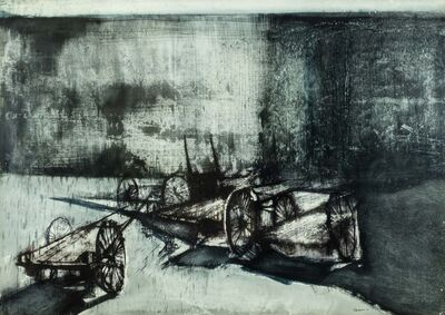 Renzo Vespignani, 'Carretti', 1963