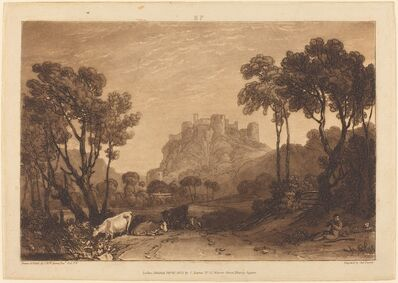 J. M. W. Turner, 'The Castle Above the Meadows', published 1808