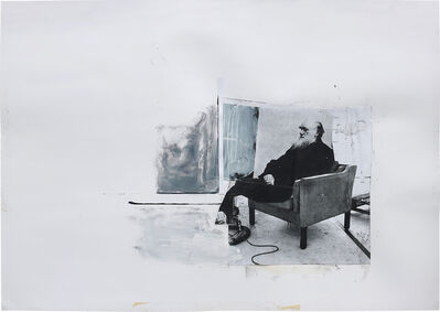 Adrian Ghenie, 'Study for 'Self-Portrait as Charles Darwin'', 2011