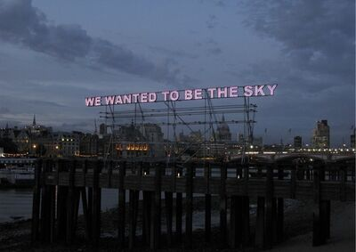 Tim Etchells, 'We Wanted', 2011