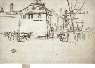 James A. M. Whistler, 'The Temple', 1880-81