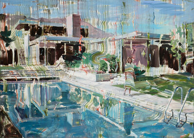 Dénesh Ghyczy, 'Private Pool', 2020