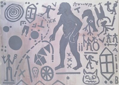 "A.R. Penck, '""Zweite Begegnung des Nordens (Second Encounter of the North)""', 1983"