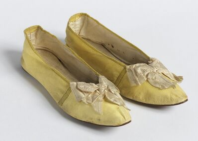 'Pair of slippers', 1830