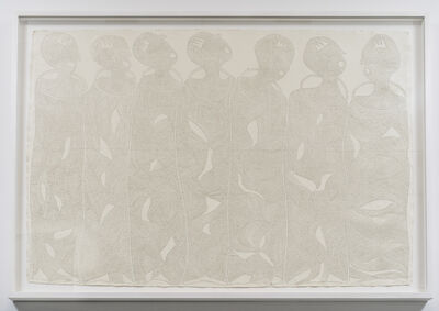 Victor Ehikhamenor, 'We are Uzama-nihion, the seven kingmakers', 2017