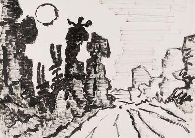 Karl Schmidt-Rottluff, 'Waldschneise im Taunus', 1963