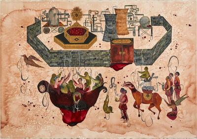 Shiva Ahmadi, 'Wall', 2017